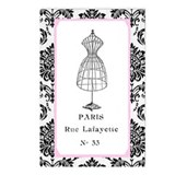 PARIS DRESSFORM Postcards (Package of 8)