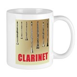 Clarinet Line-up Coffee Mug