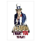 Uncle Sam Plays Chess