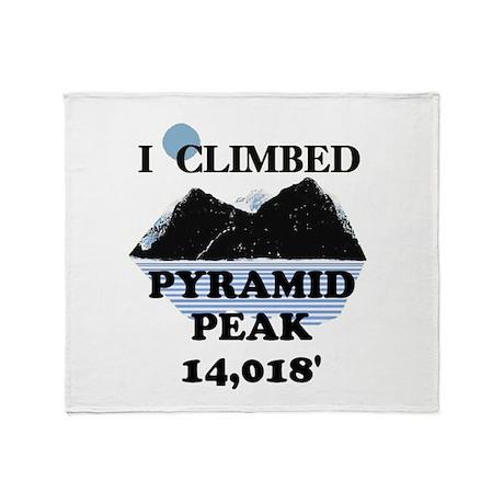 Pyramid Peak Throw Blanket