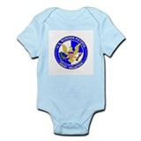 Homeland Security US Border P Infant Creeper