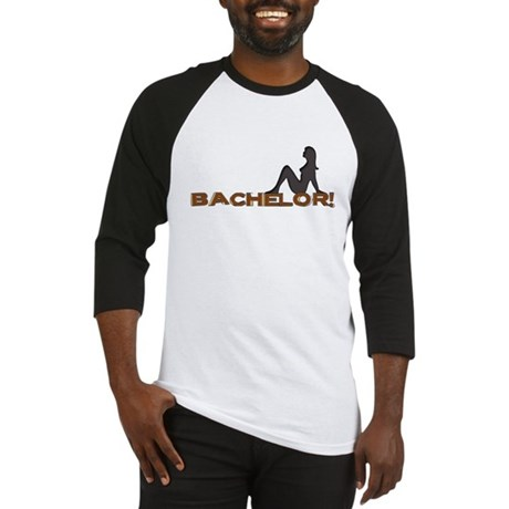 Bachelor Female Silhouette Baseball Jersey