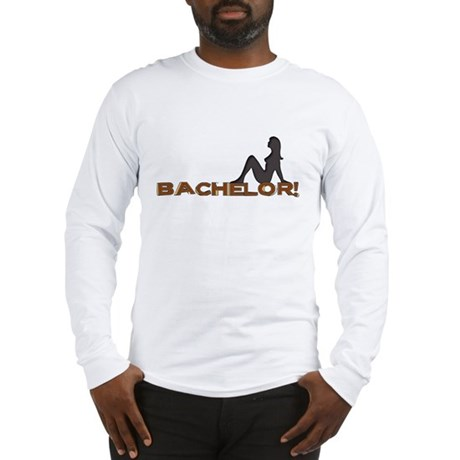Bachelor Female Silhouette Long Sleeve T-Shirt