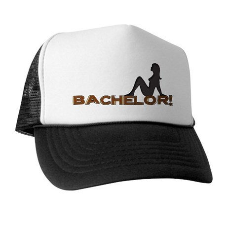 Bachelor Female Silhouette Trucker Hat