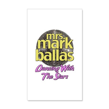 Mrs. Mark Ballas Dancing With The Stars 38.5 x 24.