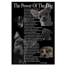 """The Power Of the Dog"" 14x10 Large Frame"