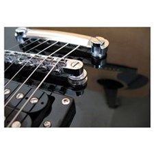 Electric Guitar w/Accoustic Reflection Smll Postr