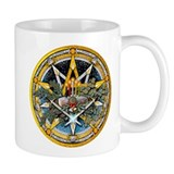 Yule Pentacle Small Mug