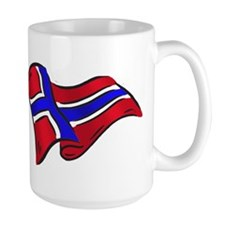 Norwegian flag of Norway Mug