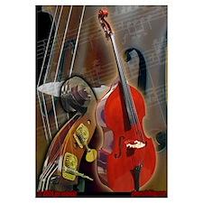 Upright Bass Art 1