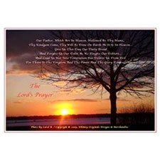 Lord's Prayer - Pink Sunset