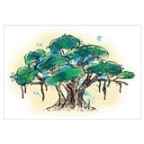 Cute Tree life Wall Art