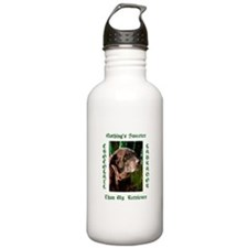 Chocolate Sweet Lab Water Bottle