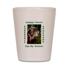 Chocolate Sweet Lab Shot Glass