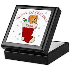 Babys 1st Christmas Keepsake Box