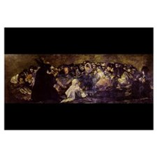 Goya - Witches Sabbath 17x11 Print