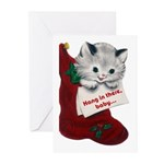 Hang In There Baby Christmas Cards (Pk of 20)