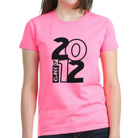 BIG Class of 2012 Women's Dark T-Shirt