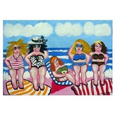5 Beautiful Beach Divas