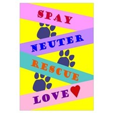 Spay, Neuter, Rescue, Love