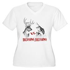 Hunting vs fishing T-Shirt