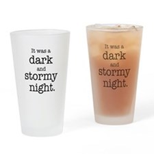 Dark and Stormy Night Drinking Glass