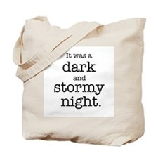 Dark and Stormy Night Tote Bag