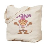 Little Monkey Diane Tote Bag