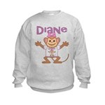 Little Monkey Diane Kids Sweatshirt