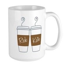 Castle Morning Coffee Large Mug