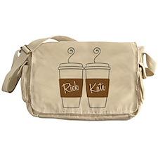 Castle Morning Coffee Messenger Bag