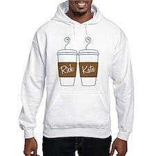 Castle Morning Coffee Hooded Sweatshirt
