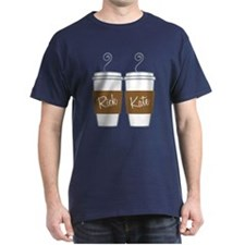 Castle Morning Coffee Dark T-Shirt