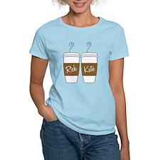Castle Morning Coffee Women's Light T-Shirt