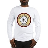 Brown Stockings Logo Long Sleeve T-Shirt