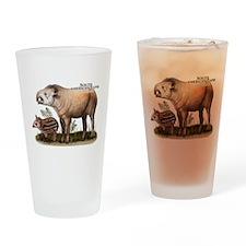 South American Tapir Drinking Glass