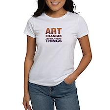 Art Changes Things Tee