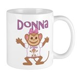 Little Monkey Donna Mug