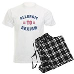 Allergic to Sexism Men's Light Pajamas