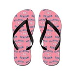 Allergic to Sexism Flip Flops