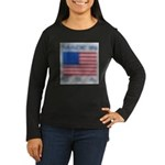 FADED GLORY™ Women's Long Sleeve Dark T-Shirt