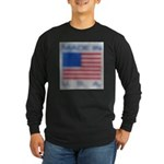 FADED GLORY™ Long Sleeve Dark T-Shirt