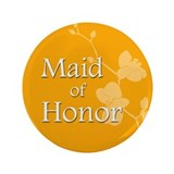 "3.5"" Maid of Honor Button"