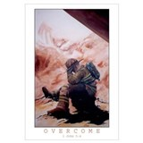 Overcome Framed (colored)