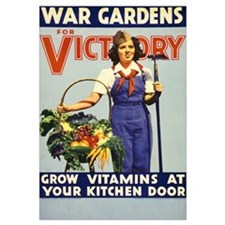 WAR GARDEN GIRL 11x17