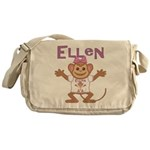 Little Monkey Ellen Messenger Bag