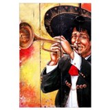 Mexican Mariachi Trumpet Player Print