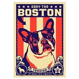 BOSTON Terrier USA Propaganda