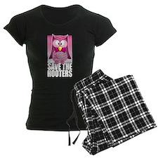 Save The Hooters Pink Pajamas