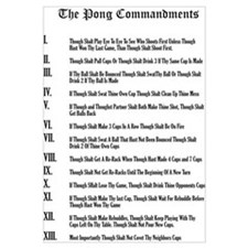 The Pong Commandments